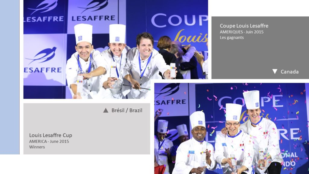 Gagnants Winners Coupe Louis Lesaffre America 2015