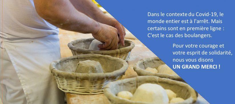 Covid19-Merci aux boulangers
